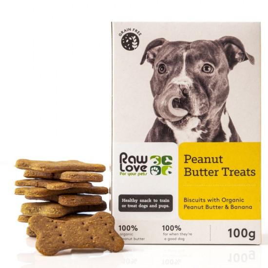 Raw Love Peanut/Butter Treats 100g