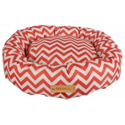 Cat Bed Tasmania Round cushion red