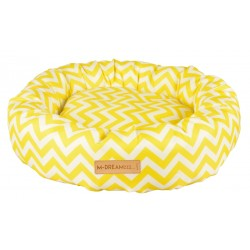 Cat Bed Tasmania Round cushion yellow