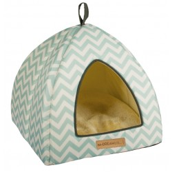 Cat Bed Tasmania Tipi cat igloo blue