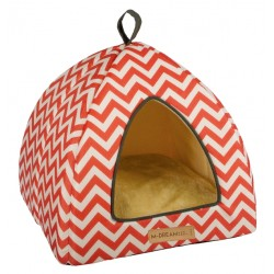 Cat Bed Tasmania Tipi cat igloo red