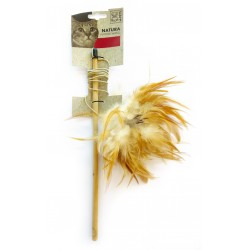 Cat Toy Feather Wand
