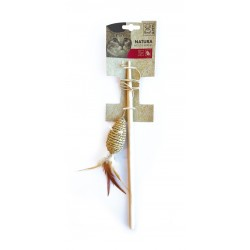 Cat Toy Natura Mouse Wand