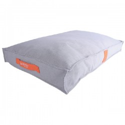 Dog Moon mat orange/grey large