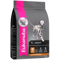Eukanuba Lamb & Rice Sml/Med (Adult & Senior) 2.5Kg