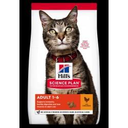 Hills Science Plan feline adult chicken 1.5kg