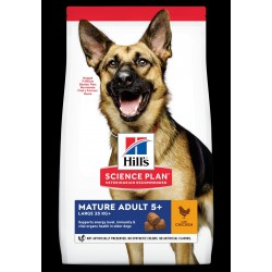 Hills Science Plan Adult mature large breed chicken 18kg