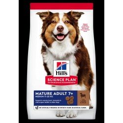 Hills Science Plan Adult mature medium breed lamb 12kg