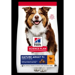 Hills Science Plan Adult mature medium breed chicken 12kg