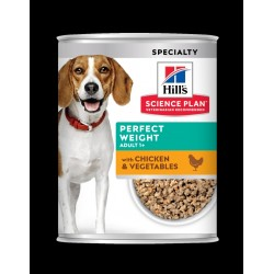 Hills Science Plan Perfect weight tin 370g