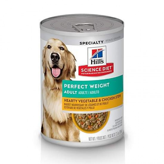 Hills Science Plan Perfect weight stew tin 356g