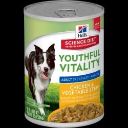 Hills Science Plan youthful vitality stew tin 356g