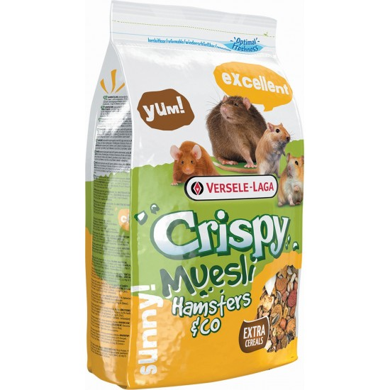 Crispy Muesli Hamster 1Kg