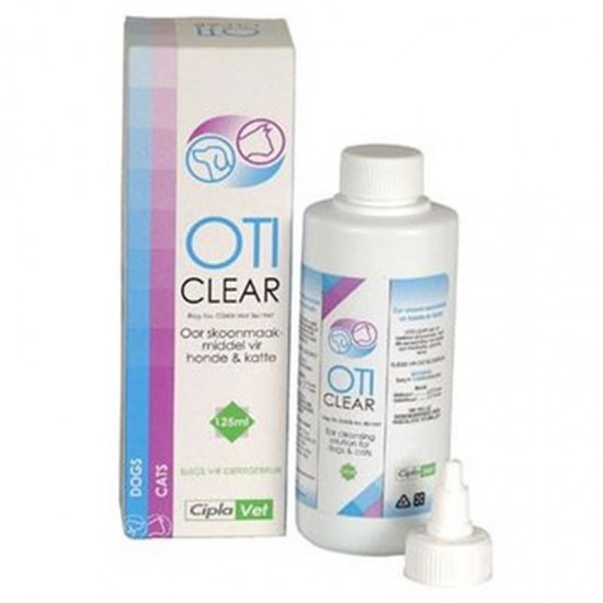 OTICLEAR EAR CLEANING SOLUTION 125ML