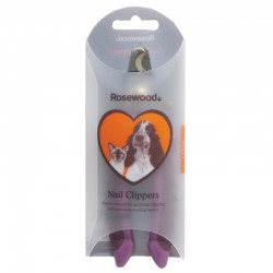 Rosewood Nail Clippers Salon Grooming small