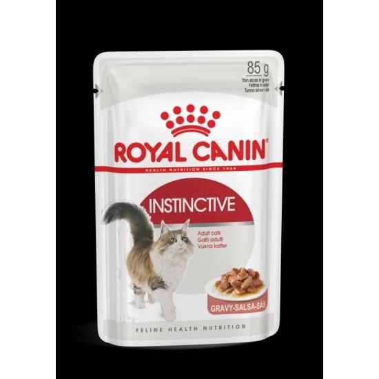 Royal Canin Instinctive adult gravy pouch 85G
