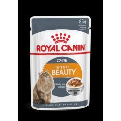 Royal Canin Intense Beauty pouch in gravy 85G