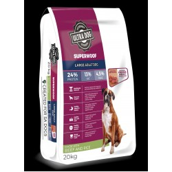 Ultradog Adult Beef and Rice Large Breed 20kg