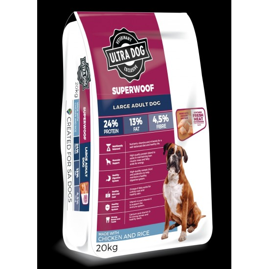 Ultradog Adult Chicken and Rice Large Breed 20kg